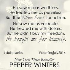 Smut Fanatics: NEW TEASER ALERT!! Brand New Teaser from Pennies (Dollar, #1) by Pepper Winters!!