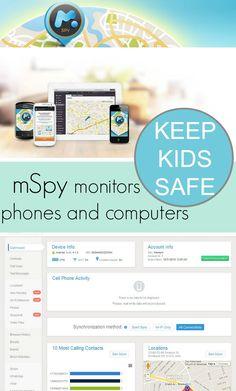 Keep kids safe on-line with mSpy