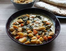 Meatless Monday Kale, Potato and Carrot Curry - Meatless Monday