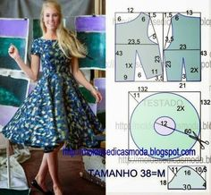 Dress without pattern. Use your measurements step by step instructions.