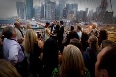 a brooklyn bridge wedding! two peas photography