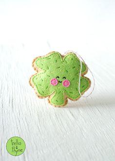 PDF Pattern Sugar Cookie Shamrock St. Patrick's door sosaecaetano