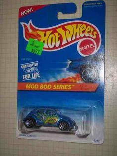 Mod Bod Series #3 VW Bug #398 Collectible Collector Car Mattel Hot Wheels 1:64…