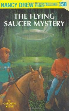 Nancy Drew 58: The Flying Saucer Mystery by Carolyn Keene. $7.99. Series - Nancy Drew (Book 58). Publisher: Grosset & Dunlap (April 21, 2005). 176 pages. Reading level: Ages 8 and up. Author: Carolyn Keene