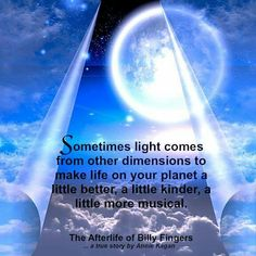 Sometimes light comes from other dimensions