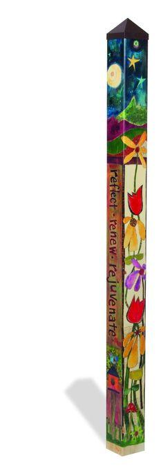 Peace Garden 6 foot Peace Pole  $199.95