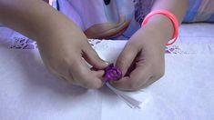 Come fare le Rose con i fazzoletti di carta - Centrotavola fai da te - V...