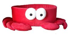 Red Hermit Crab Handmade Fleece Pet Bed by Whiscraft on Etsy, $45.00