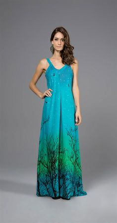 Vestido Longo Anoitecendo