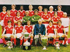 NOTTINGHAM FOREST FOOTBALL TEAM PHOTO 1979-80 SEASON