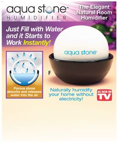 Beautiful home on pinterest humidifier air purifier and for Humidifier cleaning fish