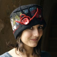 Beautiful felted hat ♥