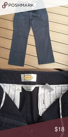 """Black casual pants Black pants gently warn and well cared for. Inseam measures 30"""". Smoke free home Talbots Pants Straight Leg"""