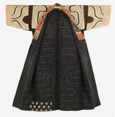 The Ainu originally inhabited all islands of present day Japan as well as southern Sakhalin which is part of Russia. Kimono Design, Textile Design, Textile Art, Shibori, Ainu People, Japanese Textiles, Fashion Art, Fashion Design, Vintage Coat