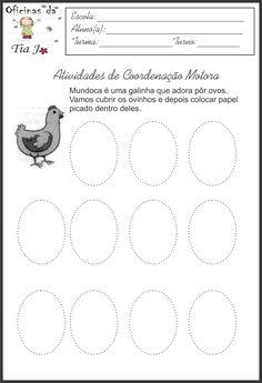 Coordenação motora fina | Jossandra Barbosa