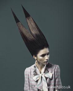 Johanna Cree Brown: Avant Garde Hairdresser of the Year 2011 Finalist  #photography #fashion #hair
