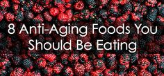 8 Anti-Aging Foods You Should Be Eating via Re Salon and Med Spa #healthy