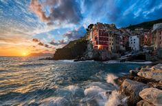 In Harmony With The Sea - There's just something magical about Le Cinque Terre that keeps me visiting again and again. I really don't think there's anywhere in the world quite like it, and with stunning views like this, it's easy to understand why this region of Italy has captured the hearts of so many travelers like myself. I believe that it's one of those places that every photographer should see and experience in their lifetime.   Believe it or not, this photo has been sitting in my…