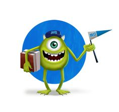 How to Draw Mike Wazowski From Monster University in Photoshop Step By Step