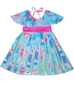 There's no children clothing boutique like TwirlyGirl.  This is our Pinwheel Dress.  Put it on and watch her twirl.