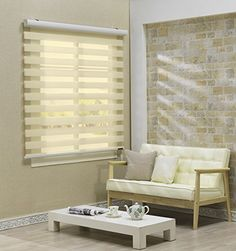 Basswood Blinds, Layered Shade, Living Room Blinds, American Blinds, Blinds, Bunk Beds With Storage, Blinds Design, Cheap Blinds, House Blinds