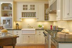 [ Cottage Style Kitchen Ideas Choose Details Kitchen Cottage Kitchens Photo Gallery Design Ideas ] - Best Free Home Design Idea & Inspiration Kitchen Sink Decor, Kitchen And Bath Design, Kitchen Cabinets, Kitchen Ideas, Kitchen Designs, Kitchen Redo, Eclectic Kitchen, Kitchen Interior, Cottage Kitchens