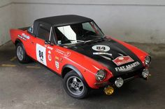 Fiat 124 Abarth Rally Group 4 (1973)