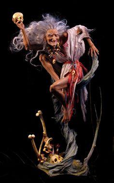 Crone........Baba Yaga Doll by Forest Rogers.jpg