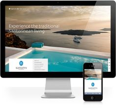We design and develop websites and digital marketing strategies. We support new and established brands to become relevant to their targeted audiences and successfully obtain a refreshed digital brand image. Santorini Hotels, Santorini Island, Digital Marketing Strategy, Online Marketing, Travel Around The World, Around The Worlds, Vacation Trips, Apartments, Travelling