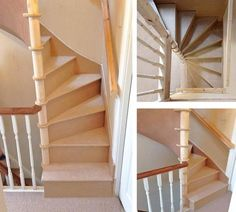 Square Spiral Stairs & Inspiraling Stair Systems & Spiral Staircases, Space Saving Source by ferraschoolfiel The post Square Spiral Stairs Loft Staircase, House Stairs, Spiral Staircases, Space Saving Staircase, Space Saving Bedroom, Modern Staircase, Spiral Stairs Design, Staircase Design, Attic Rooms