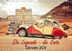 Die Legende - die Ente, Citroën 2CV - CALVENDO Kalender von Peter Roder