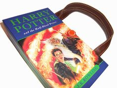 Book Purse Harry Potter Half Blood Prince Book by retrograndma, $49.99