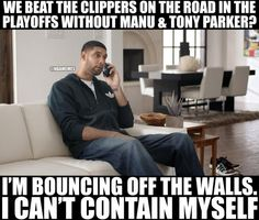 Tim Duncan RIGHT NOW after the Spurs beat the Clippers in GA - http://nbafunnymeme.com/nba-memes/tim-duncan-right-now-after-the-spurs-beat-the-clippers-in-ga