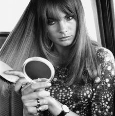 Yep!  More Jeanne Shrimpton Mid-Century hair inspiration.