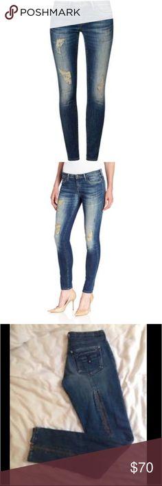 Twenty8Twelve Allen Skinny Zipper Detail Jeans Twenty8Twelve Allen Wash Skinny Zipper Detail Jeans in Denim. London Designer Denim. Excellent condition. Width 27 Length 30 Twenty8Twelve Pants Skinny