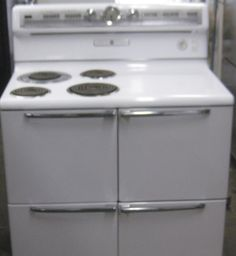 Appliance City Vintage Ge Electric Range 30 Inch Coil