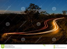Car Light Trails - Download From Over 27 Million High Quality Stock Photos, Images, Vectors. Sign up for FREE today. Image: 17751882