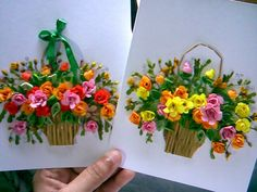 ..quiling flower card