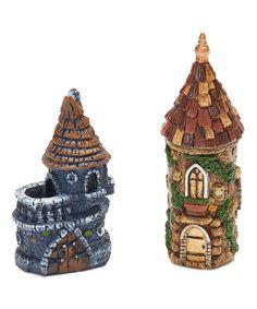 Georgetown Home And Garden Miniature Castle U0026 Castle Tower Décor
