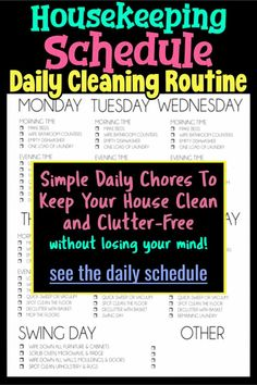 Decluttering Ideas: Simple Daily Chores To Keep Your House Clean and Clutter-Free,