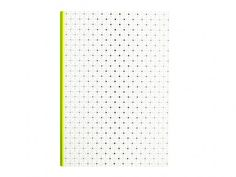 Hay Ink Notebook - fluorescent yellow spine