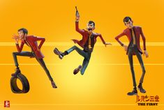 ArtStation - Lupin The First, Ahmad Beyrouthi French Cartoons, Character Art, Character Design, Lupin The Third, Carmen Sandiego, Dnd Art, Cosplay, Pose Reference, Animal Crossing