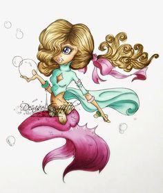 Welcome to Dolly'z Cardz ~ SC Love [mermaid] ~