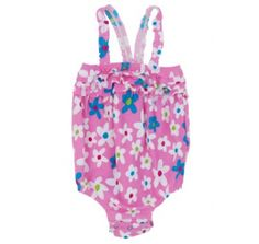 Hatley Infant Summer Garden Swimsuit at Wellies and Worms
