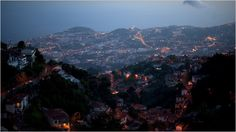 Night Comes Alive in Madeira