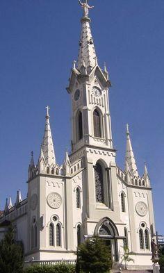 Uberaba (MG) Catedral do Sagrado Coração de Jesus, Brasil