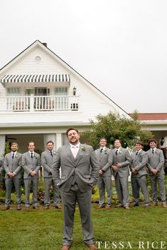 Sweet Meadow, West Georgia Wedding Venue. Groomsmen Style Photo: Tessa Rice
