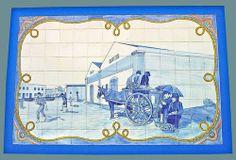Mercado Municipal da Quarteira - Portugal Portugal, Blue Tiles, Algarve, Brazil, 1, Places, Pictures, Collection, Portuguese Tiles