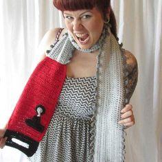 Chainsaw scarf