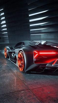 Lamborghini Terzo Millennio 4K Ultra HD Mobile Wallpaper